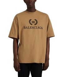 8b3875ddc366 Balenciaga Snake-print Cotton-jersey T-shirt in White for Men - Lyst