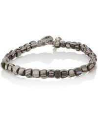 Caputo & Co. - Beaded Waxed Cord Bracelet - Lyst