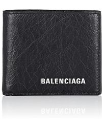 Balenciaga - Explorer Arena Leather Billfold - Lyst
