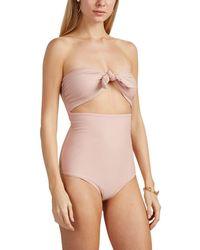 Mikoh Swimwear - Lana Strapless One-piece Swimsuit - Lyst