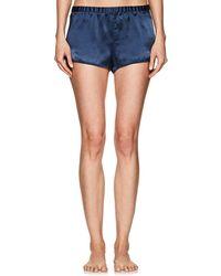 Araks - Jada Silk Charmeuse Pajama Shorts - Lyst