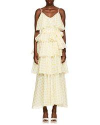 Lisa Marie Fernandez - Imaan Dot-print Cotton Dress - Lyst