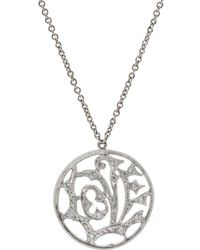 Cathy Waterman - Love Pendant Necklace - Lyst