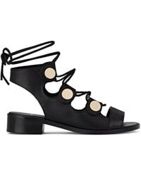 6ed87431d74e4f Pierre Hardy - Penny Ankle-tie Sandals - Lyst