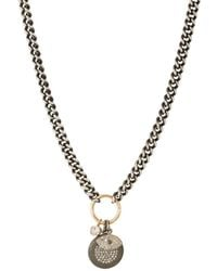 Feathered Soul - Labyrinth Pendant Necklace - Lyst