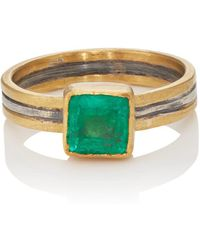 Judy Geib - Square Emerald Ring - Lyst