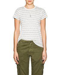 ATM - schoolboy Slub Cotton T-shirt - Lyst