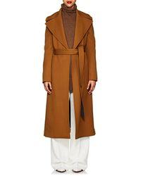 Derek Lam - Belted Wool Gabardine Trench Coat - Lyst