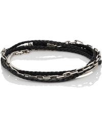 Title Of Work - Double-wrap Half-cuff Bracelet - Lyst