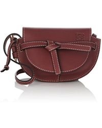 Loewe - Gate Mini Leather Shoulder Bag - Lyst