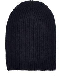 Barneys New York - English Rib-knit Beanie - Lyst