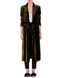 Blazé Milano - Chevron Velvet Blazer Dress - Lyst