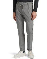 Eleventy Worsted Wool Drawstring Pants