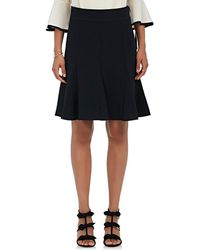 Chloé - Cady Pleated Knee Skirt - Lyst