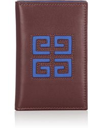 Givenchy - Leather Folding Card Case - Lyst