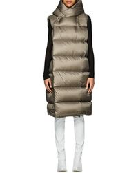 Rick Owens - Down-quilted Hooded Puffer Vest - Lyst