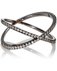 Eva Fehren - Fine Shorty Ring Size 6 - Lyst