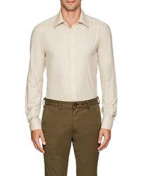 Luciano Barbera - Cotton-cashmere Shirt - Lyst