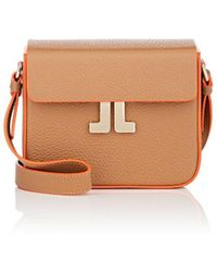 Lanvin - Leather Crossbody Bag - Lyst