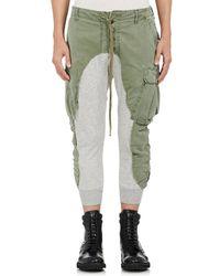 Greg Lauren - Cotton Slim Lounge Trousers - Lyst