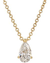 Ileana Makri - Teardrop Pendant Necklace - Lyst
