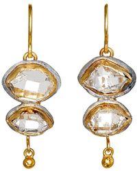Judy Geib - Double-drop Earrings - Lyst