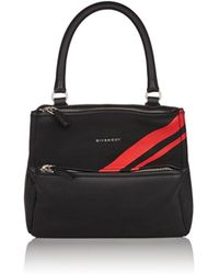 Givenchy - Pandora Small Leather Messenger Bag - Lyst