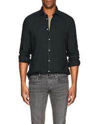 Massimo Alba - Washed Slub Twill Shirt - Lyst