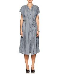 Pas De Calais - Oversized Belted Dress - Lyst