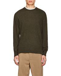 Officine Generale - Cashmere Crewneck Sweater - Lyst
