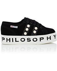 Philosophy Di Lorenzo Serafini - Superga X Philosophy Sneakers - Lyst