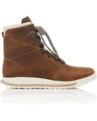 Rick Owens - Dirt Grafton Oiled Leather Hiking Boots - Lyst