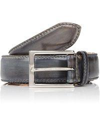 Harris - Burnished Smooth Leather Belt - Lyst