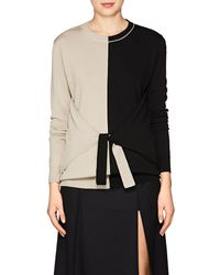 Nina Ricci - Bi-color Knit Wool - Lyst
