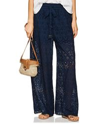 Zimmermann - Castile Cotton-silk Eyelet Wide - Lyst