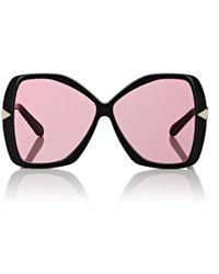 e7c551c585b3 Lyst - Gentle Monster Cuba Oversized Sunglasses in Black