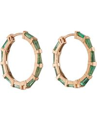 Nak Armstrong - Hilvanado Stitch Hoop Earrings - Lyst