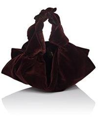 The Row - The Ascot Small Velvet Bag - Lyst
