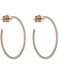 Raphaele Canot - Skinny Deco Hoop Earrings - Lyst