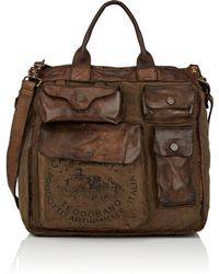 Campomaggi - Canvas & Leather Tote - Lyst