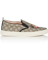Gucci - Dublin Coated Canvas Trainers - Lyst