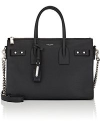 Saint Laurent - Small Leather Sac De Jour - Lyst