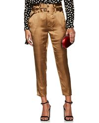 Robert Rodriguez - Satin Slim Crop Pants - Lyst