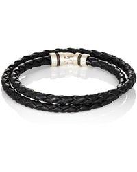 Zadeh - Esteban Double-wrap Bracelet - Lyst
