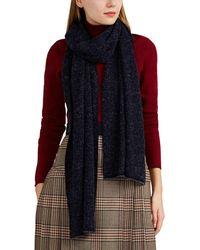 Barneys New York - Bouclé-knit Cashmere-blend Scarf - Lyst