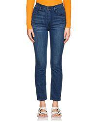 3x1 - W4 Colette Slim Crop Jeans - Lyst