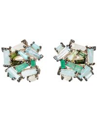 Nak Armstrong - Rose Cluster Stud Earrings - Lyst