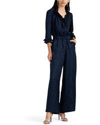 Warm - Ines Floral Silk Jumpsuit - Lyst