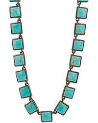 Nak Armstrong - Turquoise Mosaic Necklace - Lyst