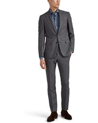 Cifonelli - Overplaid Worsted Virgin Wool Two-button Suit - Lyst